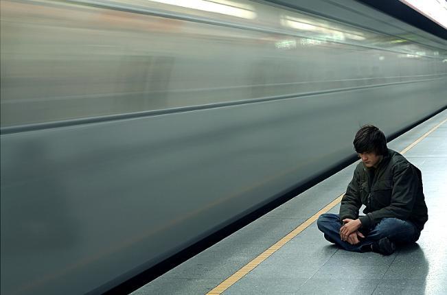Tristetea din metrou!