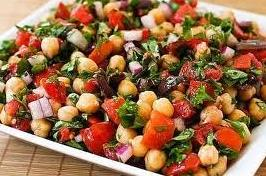 Bucataria libaneza: salata cu naut