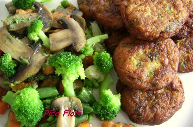 Chiftelute crocante din legume