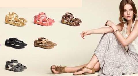 Cele mai cool sandale ale verii