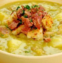 Supa de mazare uscata