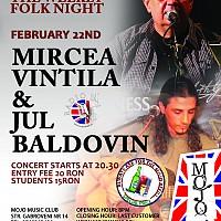 Concert Mircea Vintila si Jul Baldovin